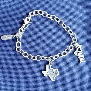 James Avery Medium Bracelet with 2 charms